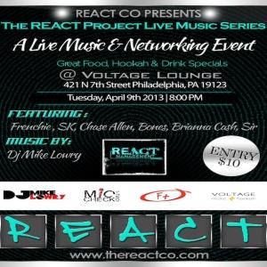 react flyer